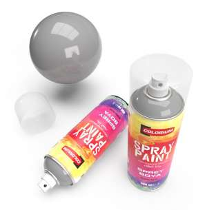 Colorium - RAL 9006 - White Aluminium - Spray Paint