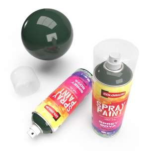Colorium - RAL 6005 - Green - Spray Paint